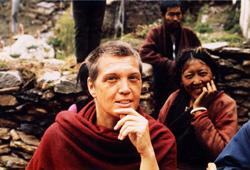 Zina Rachevsky, Kopan, 1970, Tibetan Buddhist retreat