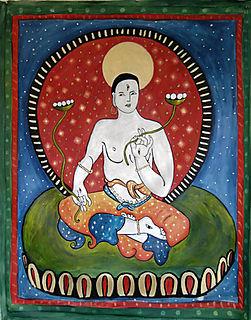 White Tara, tibet goddess, liza cowan painting