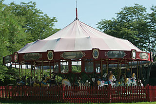 Carousel at Shelburn Museum