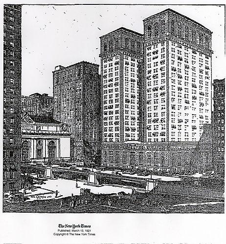 Pershing square ny times 1931