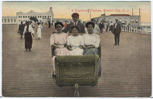 Atlantic city rolling chair 1914