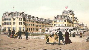 Atlantic city early rolling cart