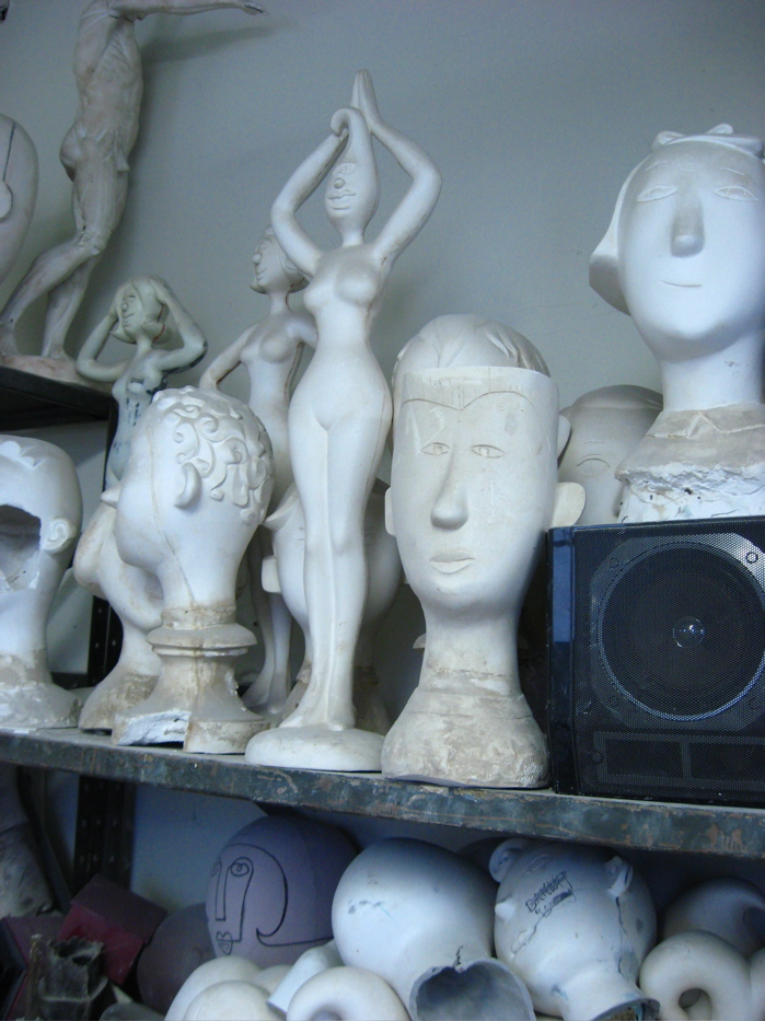 Pucci- heads on shelf