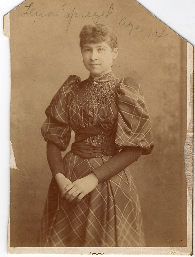 Lena Straus age 14