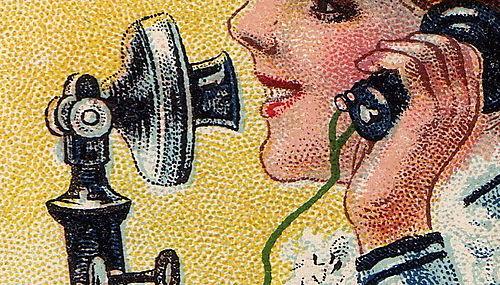 Jello telephone detail