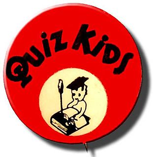 Quiz kids pin