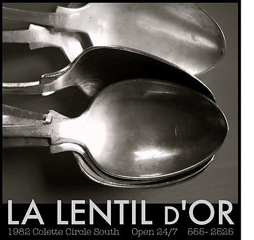 La lentil d'or blog