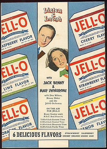 Jello jack benny 1937 listen and laugh