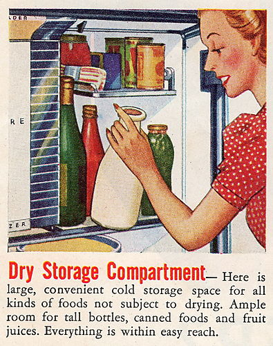 Frigidairedr storage 1940 sat ev e post blog