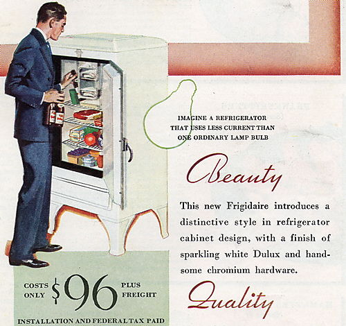 Frigidaire guy 1933 blog