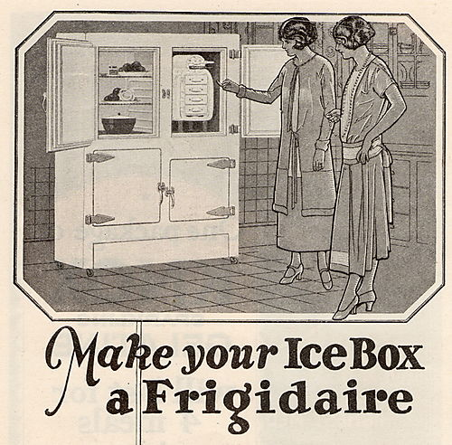 Frigidaire 1925 blog