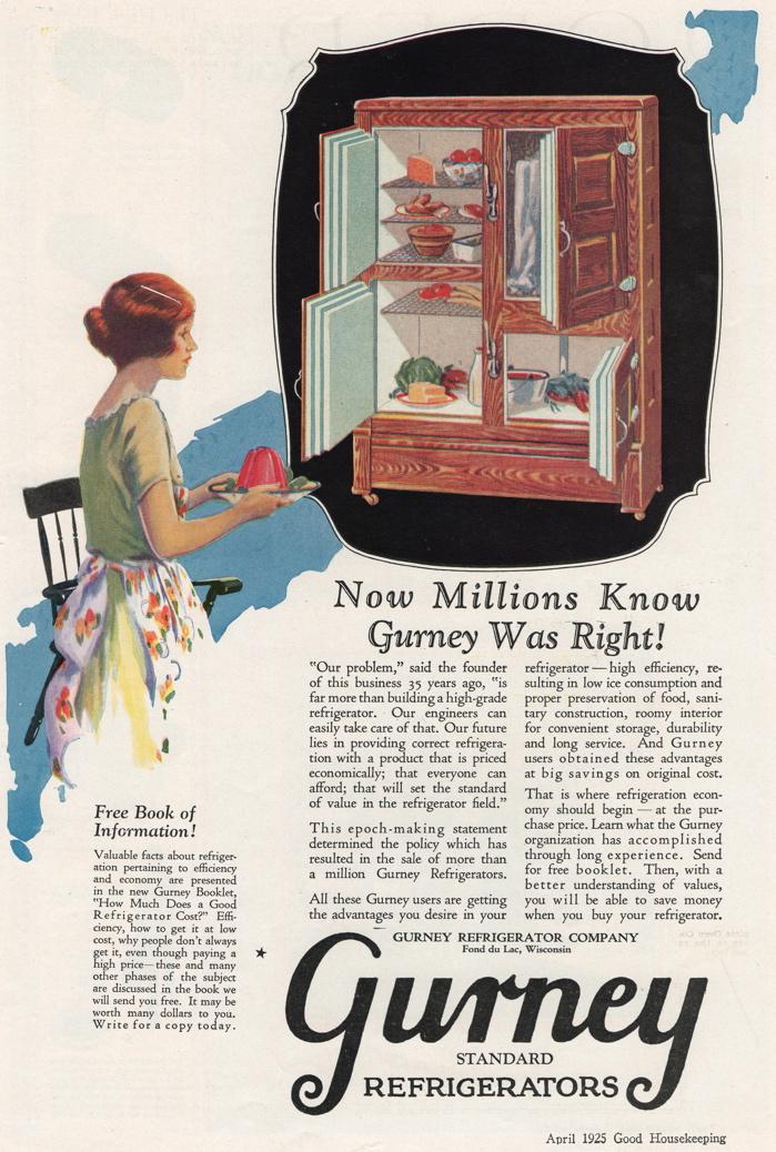 Refridge gurney 1925 blog