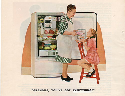 Refrigerator norge grandma 1946 good housekeeping blog