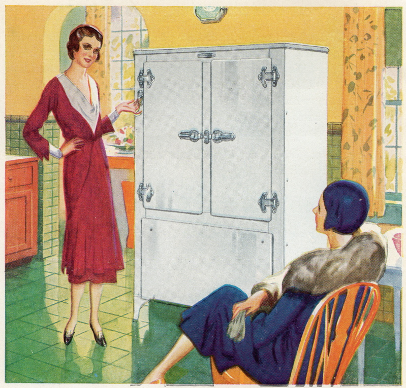 Frigidaire 1931 booklet two women