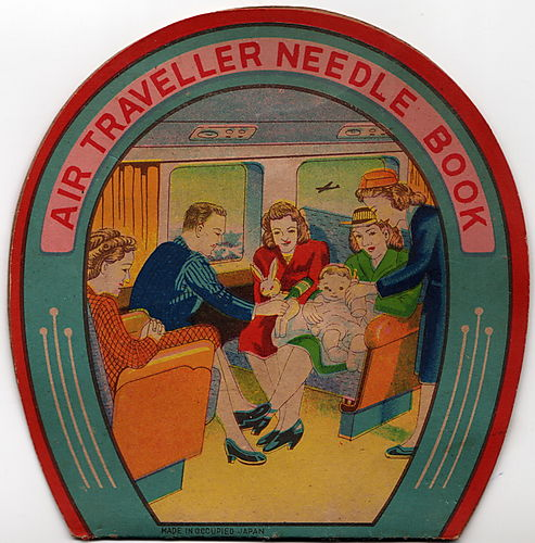 Air traveller needlebook