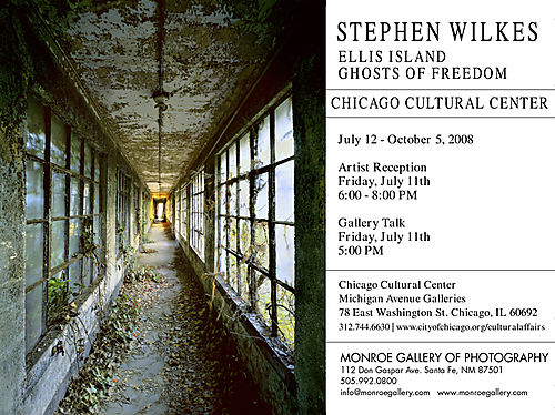 Stephen Wilkes Ellis Island, Ghosts Of Freedom