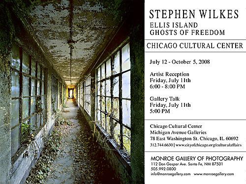 Stephen Wilkes Ellis Island, Ghosts Of Freedom