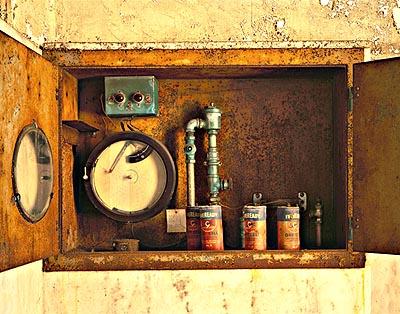Stephen Wilkes, everready batteries, Isolation Ward, Ellis Island