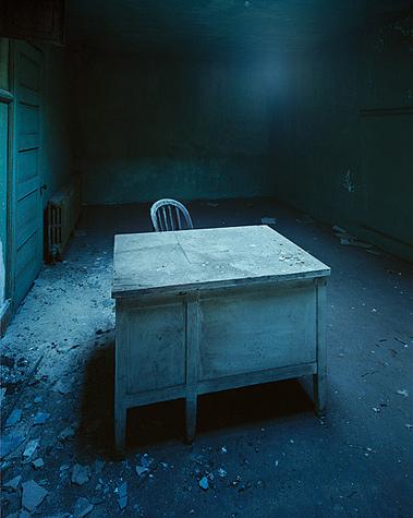 Christopher barne, Desk Of Questioning, Ellis Island
