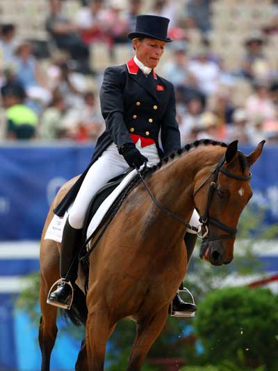 Mary King of Great Britain on Call Again cavalier photo Julian Herbert:Getty Images