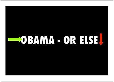 Blog obama or else
