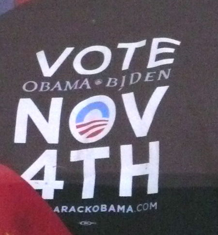 Obama shirt detail