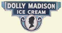 Dolley madison icecream