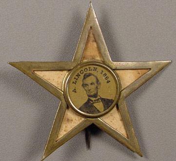 Lincoln star button