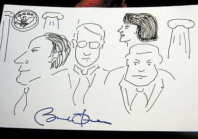 Drawing by Barack Obama