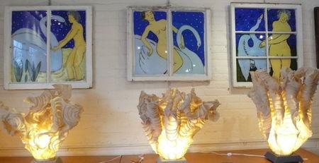 Studio glow and leda