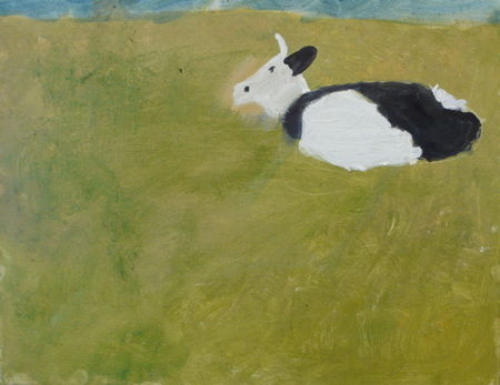Atelier Tove, cow in pasture by Nils Arentzen