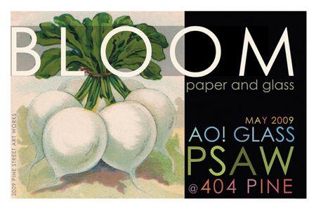 liza cowan design, radish, AO! Glass, pine street art works, seed packet graphics