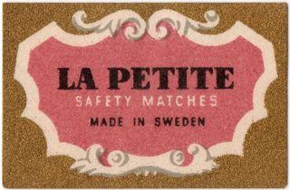Matchbox la petite sweden
