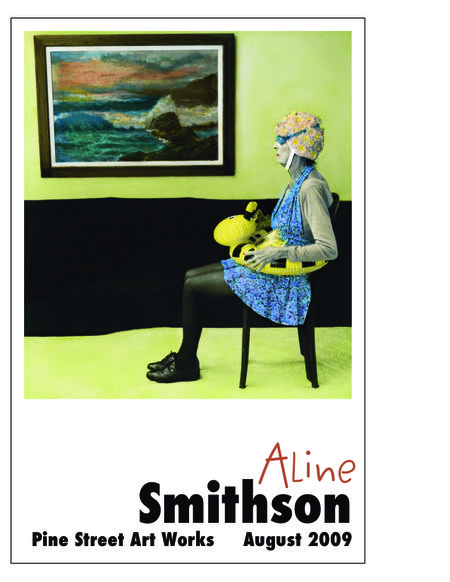 Aline Smithson, whistlers mother, arrangement in green and black, paint by number, contemporary photography, old lady swim, granny swim