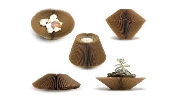 Liquid_cardboard_bowl_vase_placemat