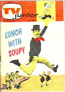 soupy sales, lunch with soupy, TV Junior, television