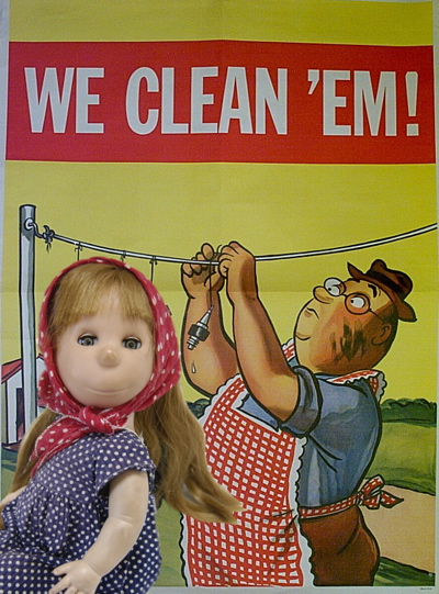william steig, poor pitiful pearl, we clean 'em, shell oil, Liza Cowan