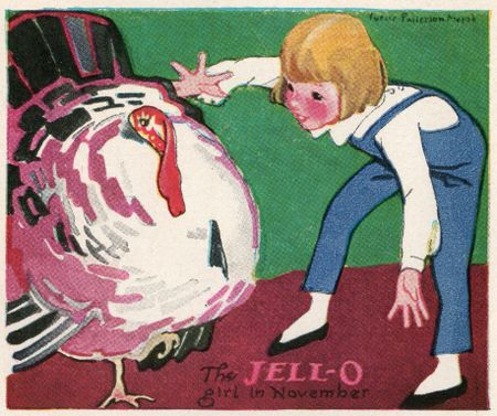 Jello recipe book Lucille Patterson March November 1924