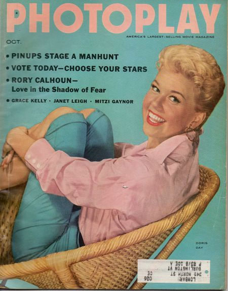 Doris Day, Photoplay Magazine Oct 1955