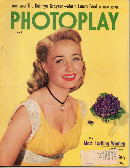 Jane Powell, April 1952, Photoplay Magazine