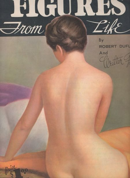 Figures from life, walter foster, robert duflos, cover