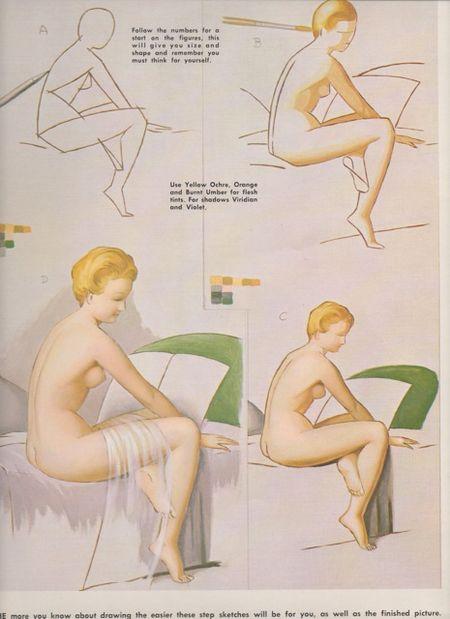 Figures From LIfe, walter foster, robert duflos, p 6