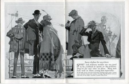 Hart schaffner marx style book 1917