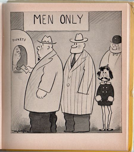 Little lulu, marge, 1939, men only, little lulu in moustache, little lulu in drag,