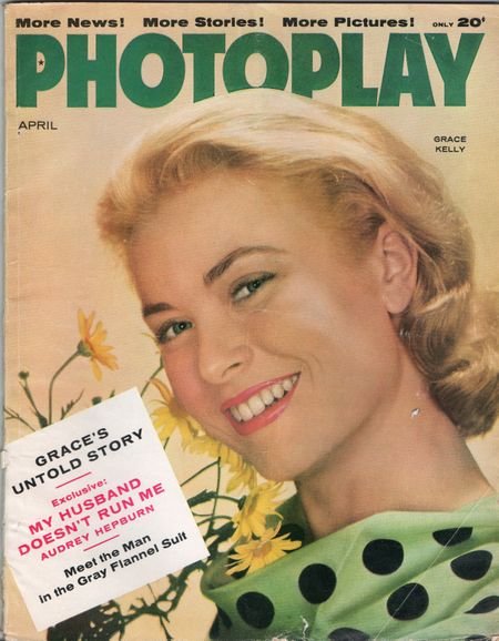 Grace Kelly, April 1956, Photoplay Magazine