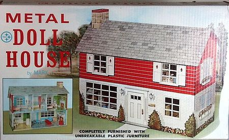 Marx Metal Doll house Box