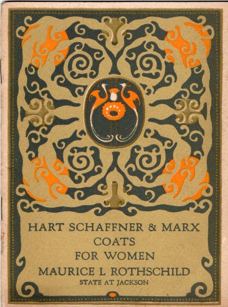 Hart Schaffner & Marx, 1924, Coats for women,
