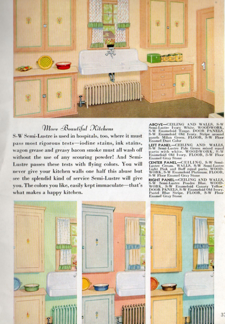 Sherwin williams, 1934, more beautiful kitchens
