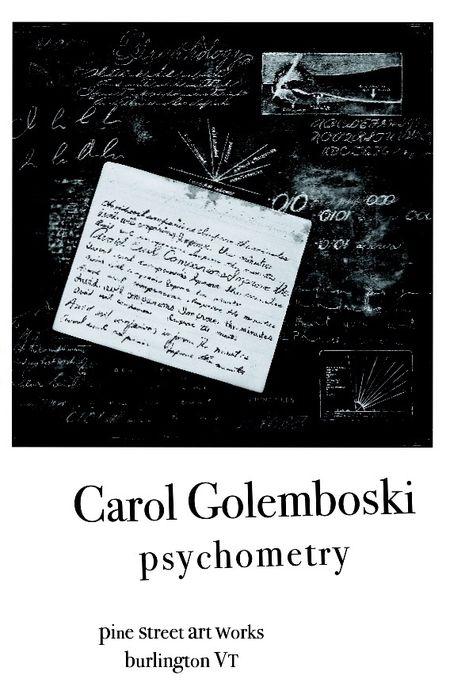 Carol golembosk,i postcard, psychometry, pine street art works
