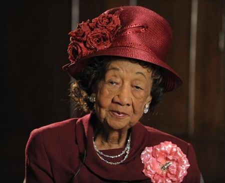 Dr. Dorothy Height, fashion icon